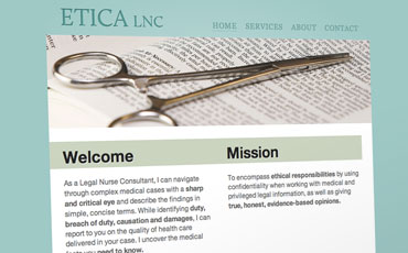 Portfolio entry for Etica LNC